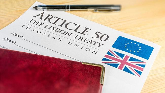 Artykuł 50 - Brexit