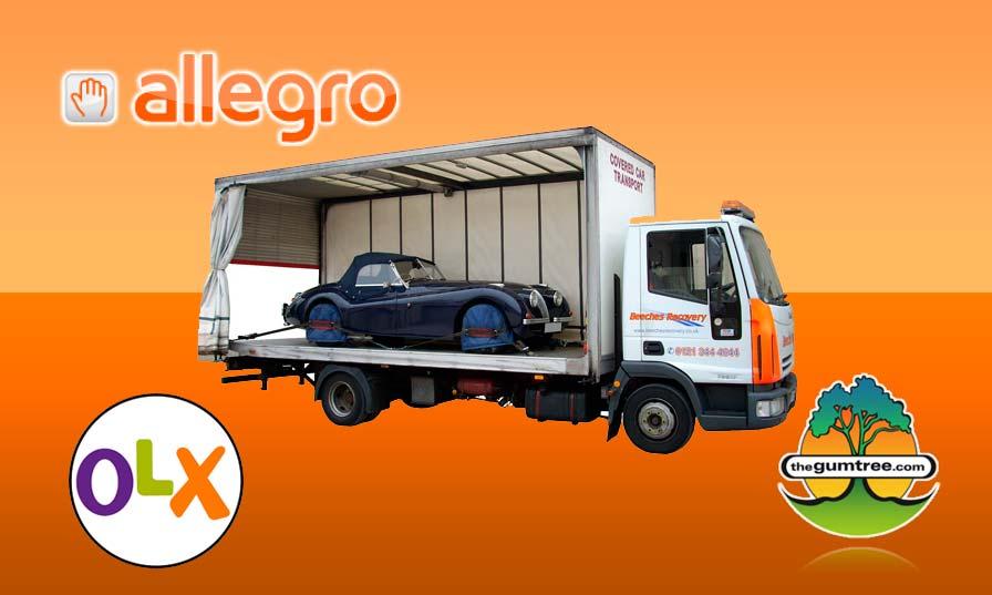 Jak przewieźć rzeczy kupione na Allegro.pl, olx.pl, gumtree.pl?