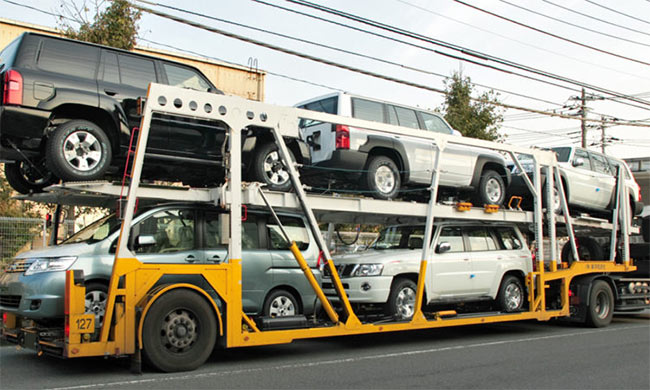 grupowa laweta pojazdów osobowych