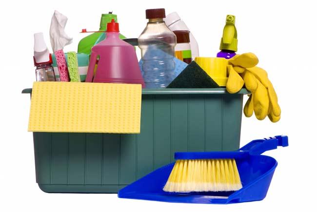 Materiały do sprzątania