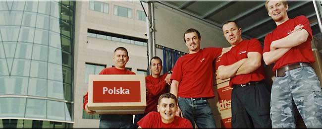 polska, firma, przeprowadzkowa