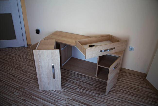 rozbiórka biurka