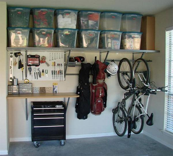 schowek garaż