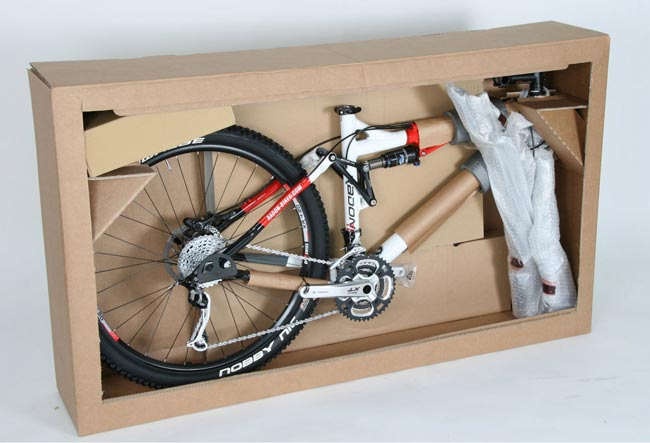 transport roweru w kartonie / pudełku