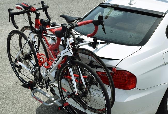 transport roweru własnym autem