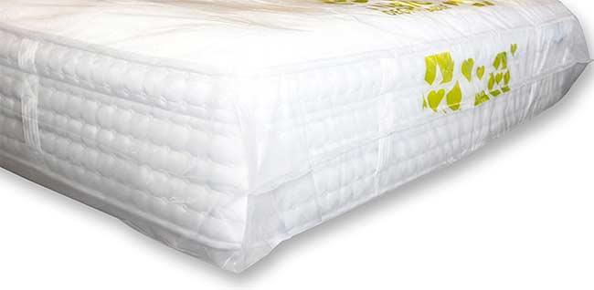 zapakowanie materaca łóżka
