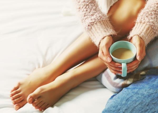 Ciepła kawa w ziemie